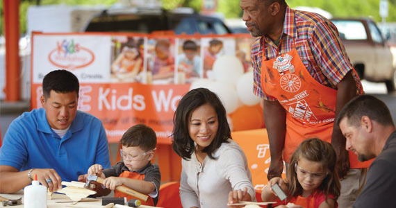 Free Summer Workshops At The Home Depot