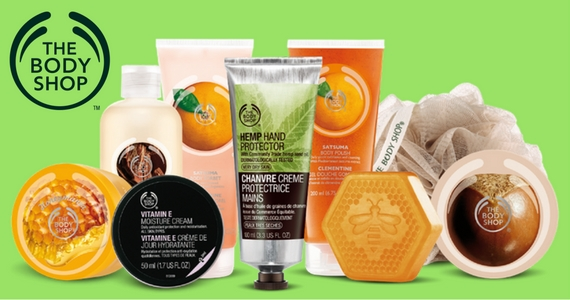 "Join The Body Shop ""Love Your Body"" Club"
