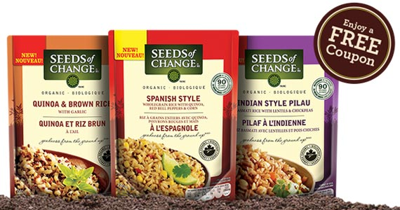 Free Seeds of Change Product Coupon