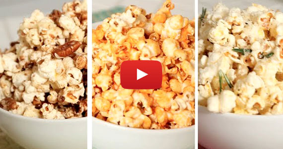 3 Delicious Popcorn Recipes – Salty, Spicy & Sweet
