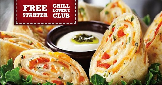 Join Montana's Grill Lover's Club for Free Spinach Dip or Antojitos