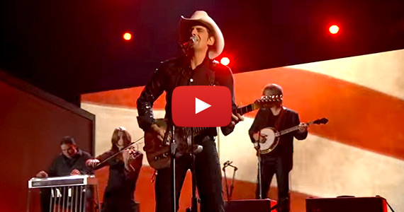 Brad Paisley Performs This Is Country Music