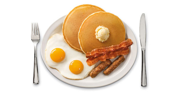 Free Grand Slam at Denny's on Your Birthday