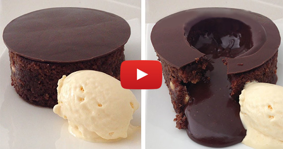 This Magic Chocolate Lava Cake Will Be Your Favorite Dessert