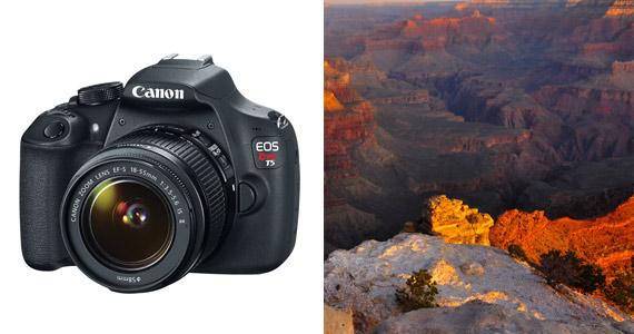 Win a Canon Rebel T5 Camera