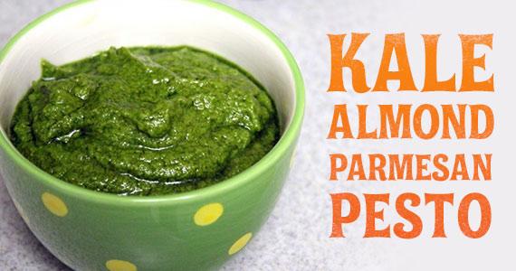 Kale Almond Parmesan Pesto
