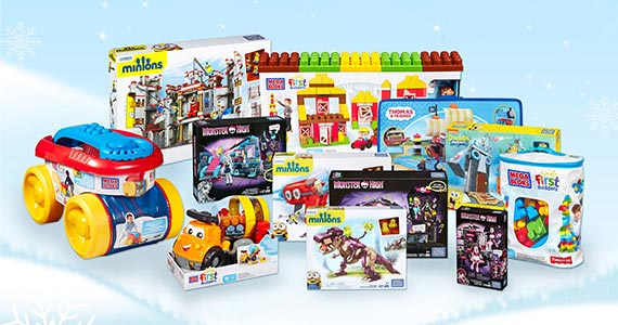 Megabloks 12 Days of Giveaways