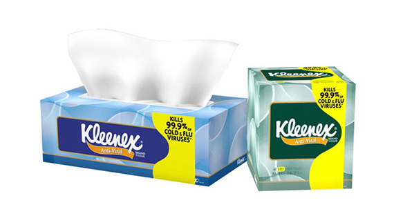 Save $1 off Kleenex