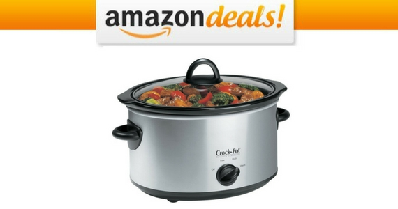 Crock-Pot 4-Quart Slow Cooker For $17.99