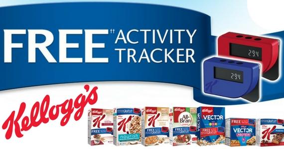 Free Kellogg's Activity Tracker