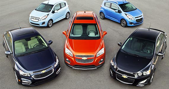 Win a GM Vehicle of Your Choice