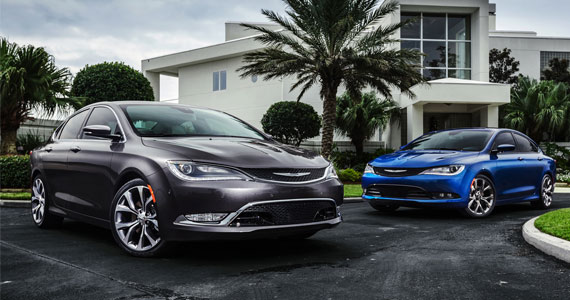 Win Your Choice of Chrysler