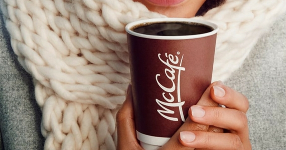 Free Small McDonald's Coffee