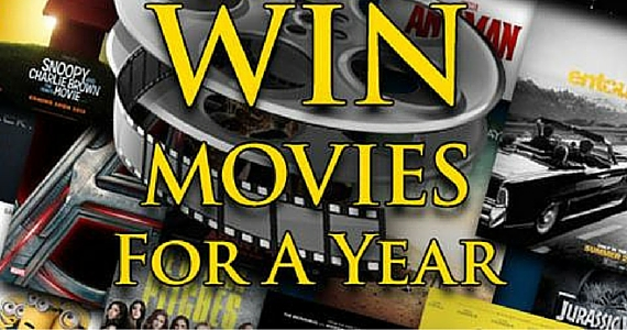 Win Free Movies For A Year