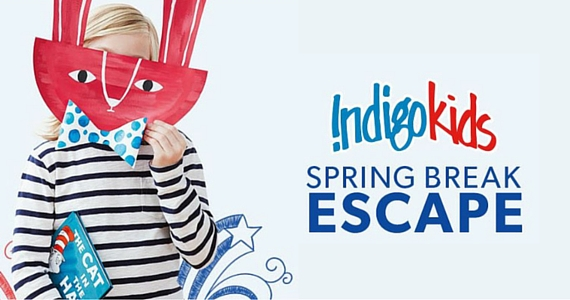 Free March Break Activities at Chapters Indigo