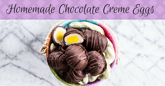 Homemade Chocolate Creme Eggs