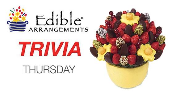 Trivia Thursdays with Edible Arrangements