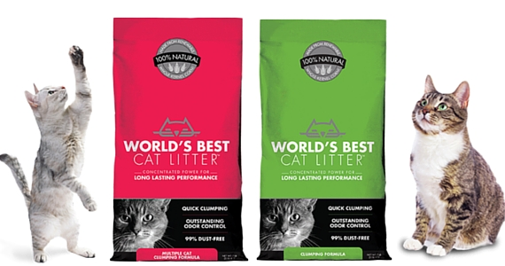 Save $2 off World's Best Cat Litter