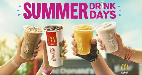 McDonald's Summer Drinks Days