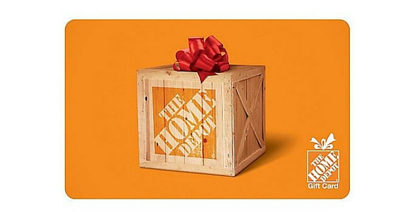 Win a $250 Home Depot Gift Card