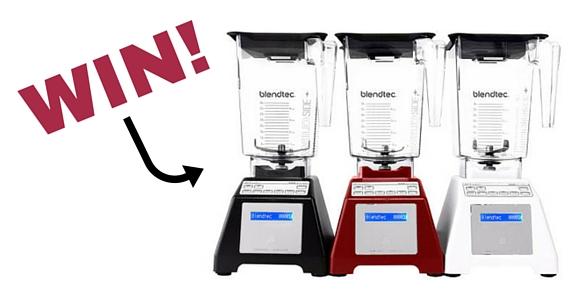 Win a Blendtec Designer 725 Blender