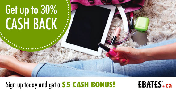 Join Ebates – Get a $5 Cash Bonus