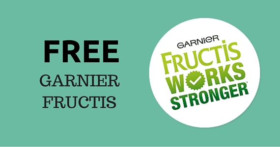 Free Garnier Fructis Product