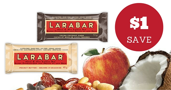 Save $1 on Any Larabar Product
