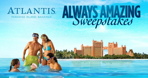Win a Trip to Atlantis Resort in Bahamas