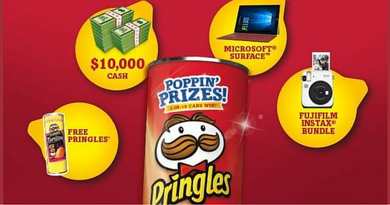 Pringles Poppin Prizes Contest
