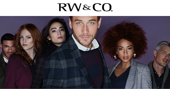 Sign Up for News, Offers & More from RW&Co