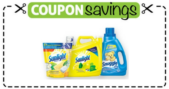 Buy 3 Sunlight Laundry Products & Save $3