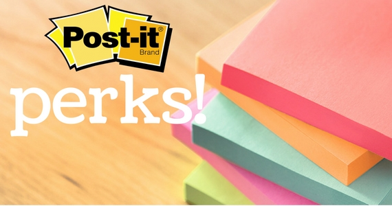 Join Post-It-Perks For Exclusive Offers