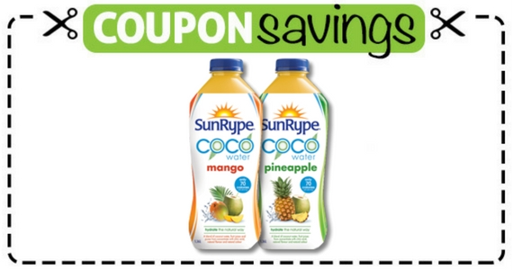 Save $1.25 Off SunRype Coco Water