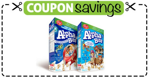 Save $3 Off Alpha-Bits Cereal
