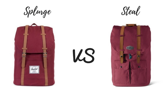 Splurge vs Steal: Back To School
