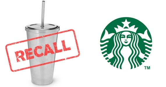 Starbucks Stainless Steel Straw Recall