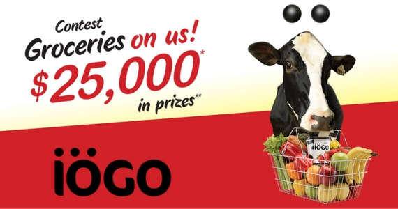 Win 1 of 10 $500 Grocery Gift Cards From IOGO