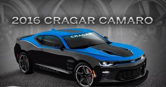 Win a 2016 Cragar Chevrolet Camaro SS