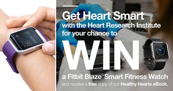 Win a Fitbit Blaze Smart Fitness Watch
