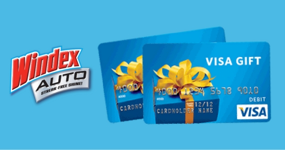 Win 1 of 5 $500 Gift Cards from Windex