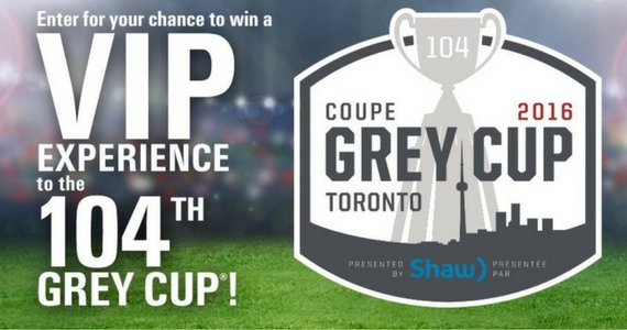 Win a Trip to The Grey Cup in Toronto