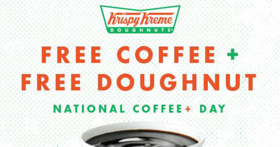 Free Krispy Kreme Coffee & Doughnut On 9/29