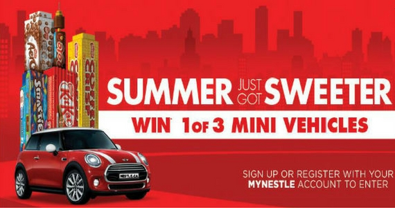 Win 1 of 3 Mini Coopers Plus Instant Prizes