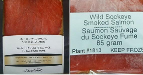Smoked Wild Pacific Salmon Recall