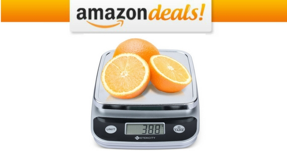 Get an Etekcity Digital Kitchen Scale For $14.99