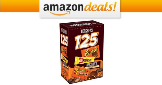 Get a Hershey's 125 Count Assorted Chocolate Box For $18.88