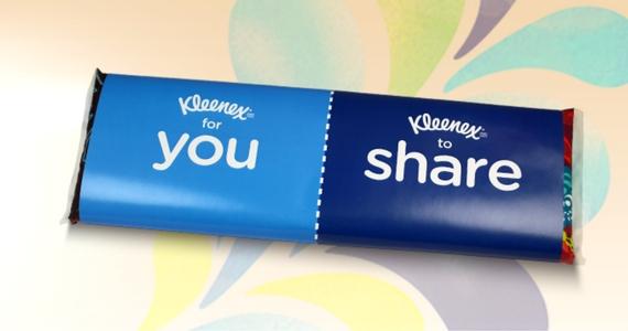 Free Kleenex Share Packs