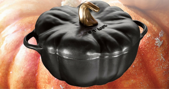 Win a Staub Black Pumpkin Cocotte