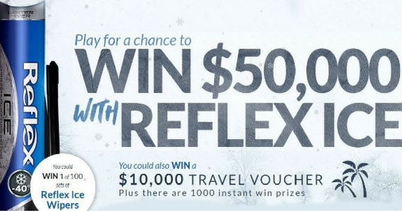 Win $50,000 Cash, a $10,000 Travel & Instant Prizes